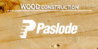 PASLODE : cordless and pneumatic fastening systems